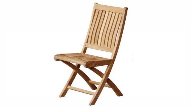 Teak Kiffa Folding Chair Indonesia Teak Furniture Wholesale