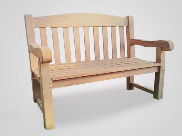 Groovy Teak Garden Bench Oxford 120 Cm Thick Leg 7 Cm Indonesia Caraccident5 Cool Chair Designs And Ideas Caraccident5Info